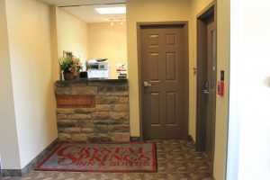 reception desk at Crystal Springs Inn & Suites Towanda, PA