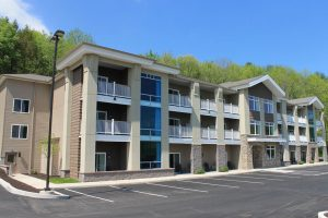 tan building hotel Crystal Springs Inn & Suites Towanda, PA