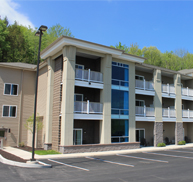 exterior of Crystal Springs Inn & Suites Towanda, PA