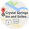 Crystal Springs Inn & Suites Map